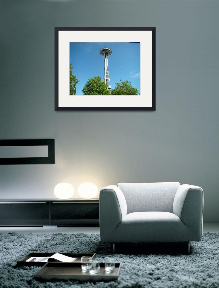 """Seattle Space Needle""  (2008) by csnoto"
