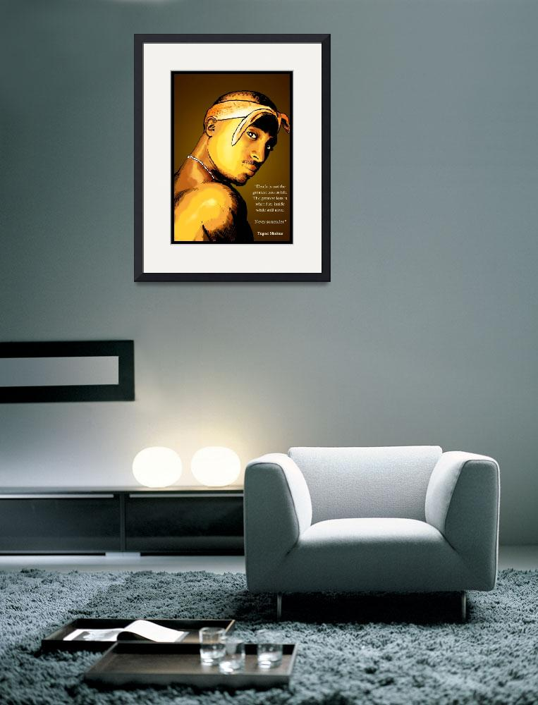 """""""Tupac&quot  (2007) by DanAvenell"""