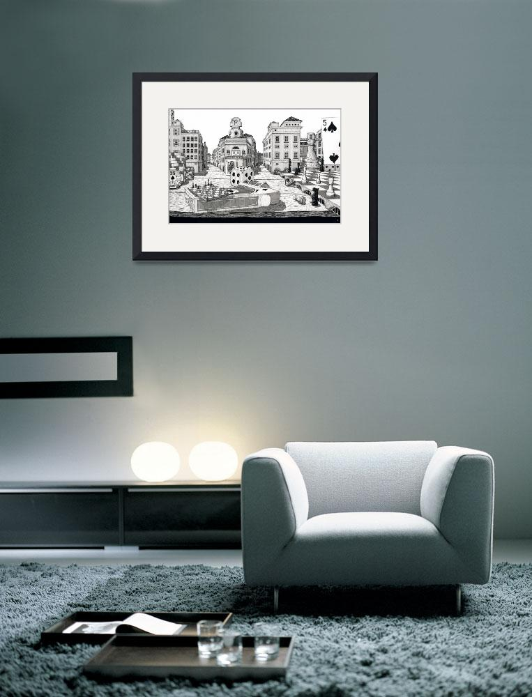 """""""The City on a Table&quot  (2007) by iroot"""