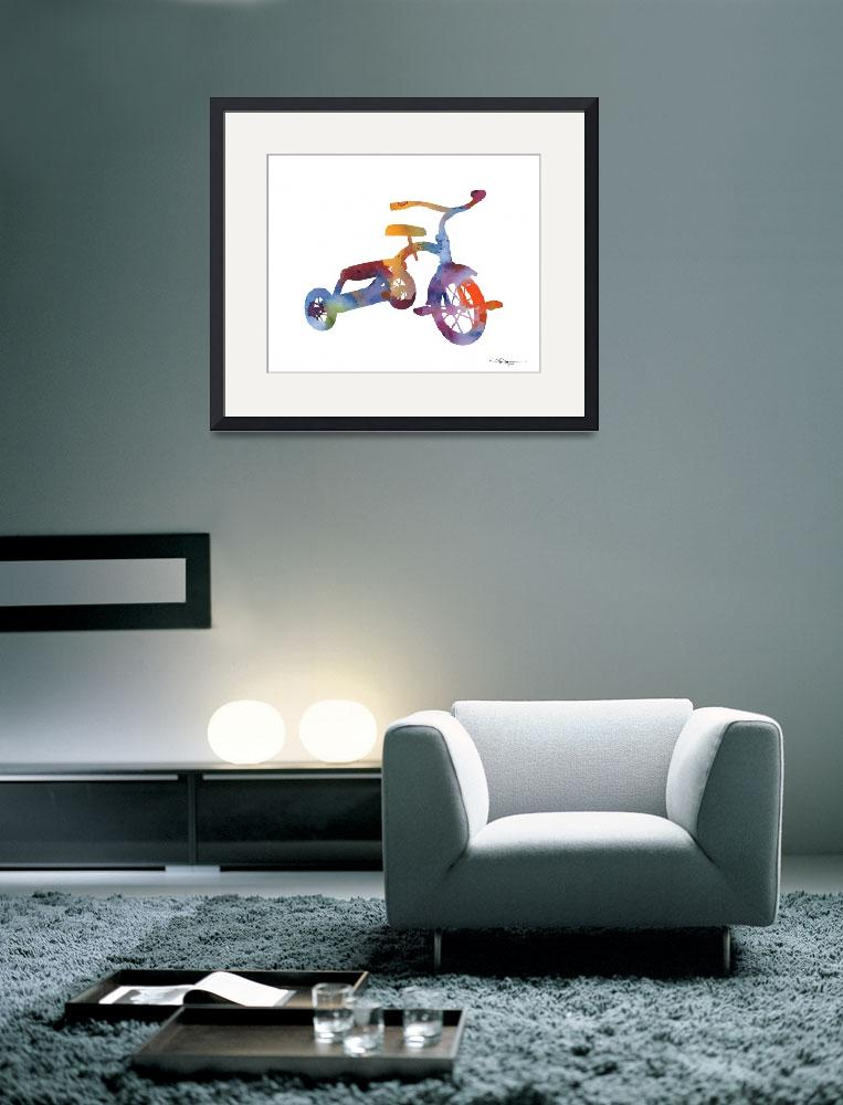"""Tricycle&quot  (2015) by k9artgallery"
