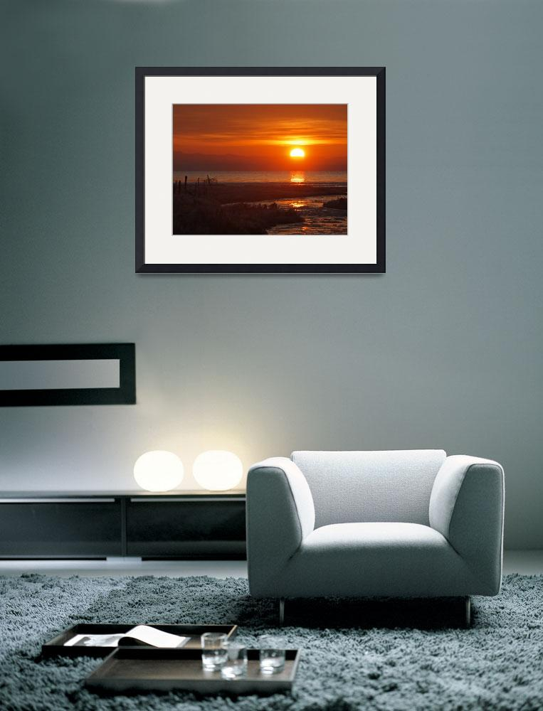 """""""Sunrise Over the Bay&quot  (2012) by tagauthier"""