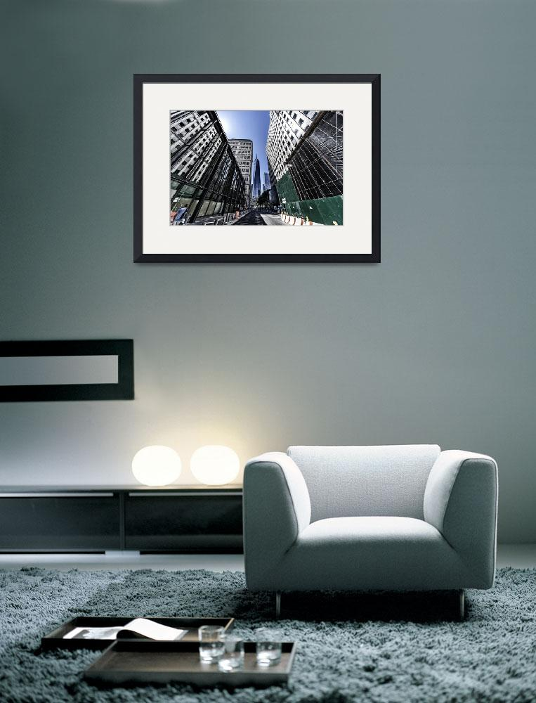 """World Trade Center and Desolate Downtown&quot  (2014) by New-Yorkled"