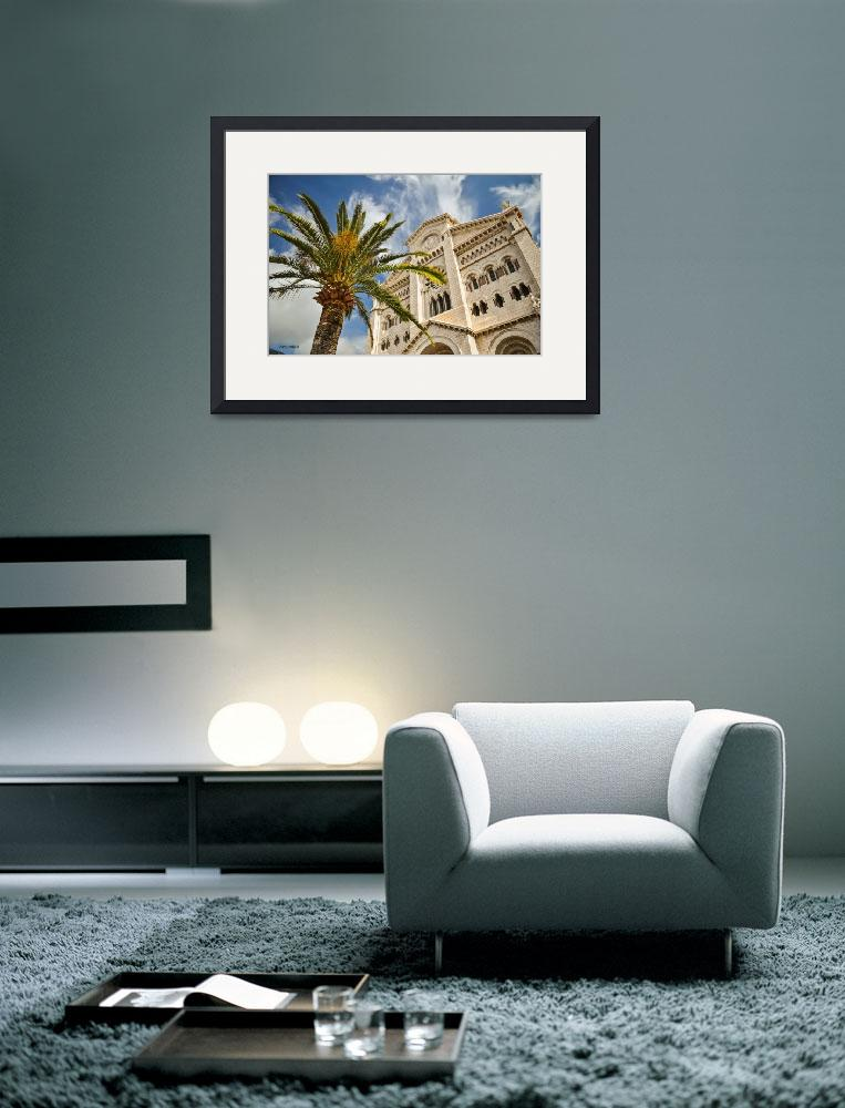"""Cathedral in Monaco&quot  (2012) by awsheffield"