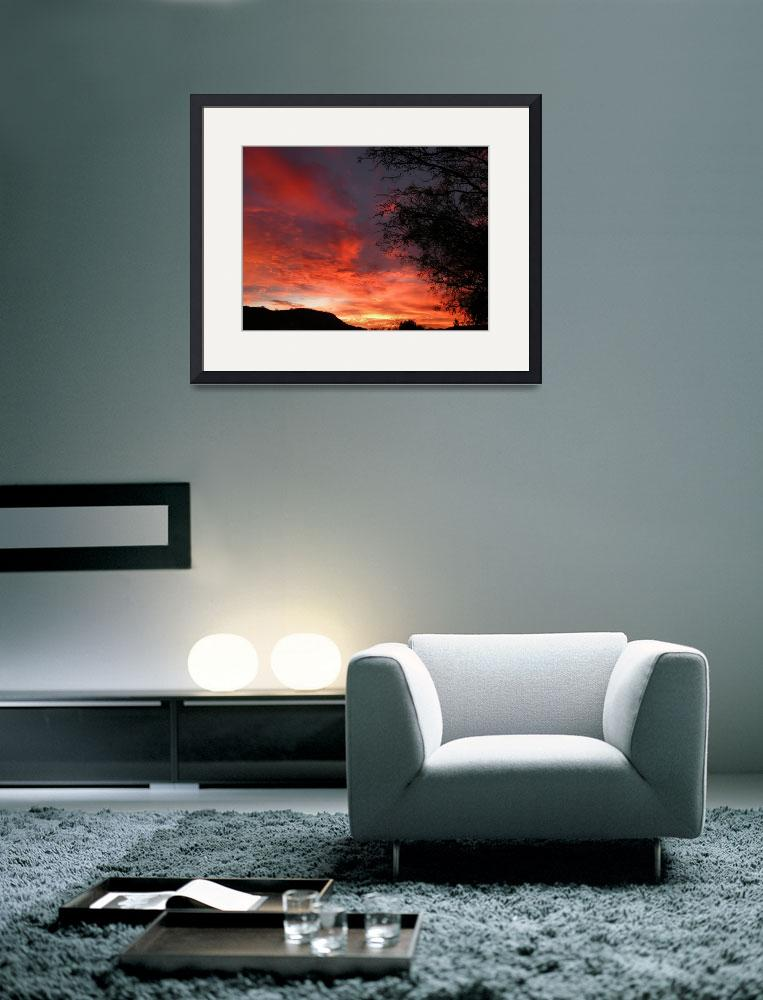 """""""Sunset Skyscape 100&quot  (2009) by Attentiongetters"""