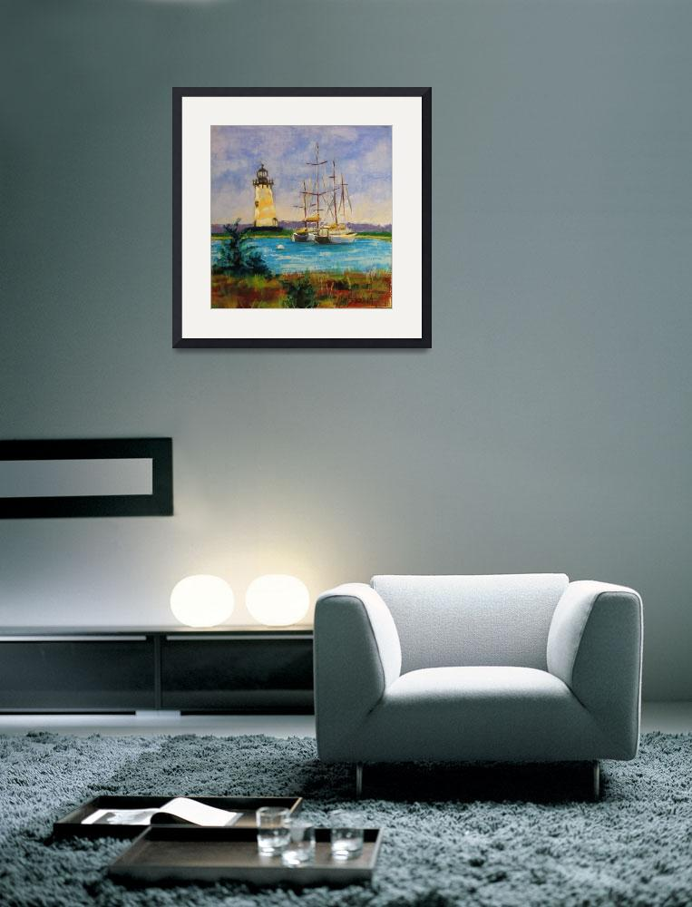 """""""The Lighthouse""""  by christineholzschuh"""