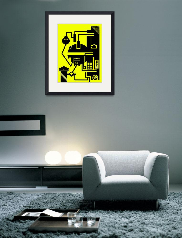 """""""abstract urban 03&quot  (2010) by dargeloni"""