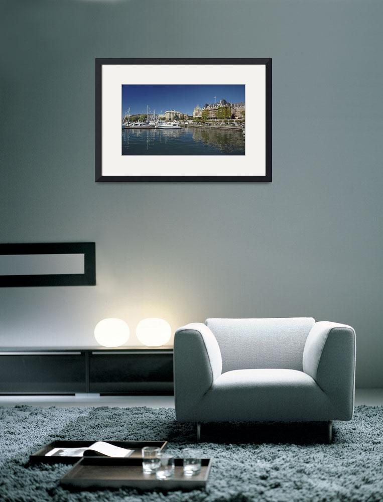 """""""Victoria Inner Harbor""""  (2007) by PaulCoco"""