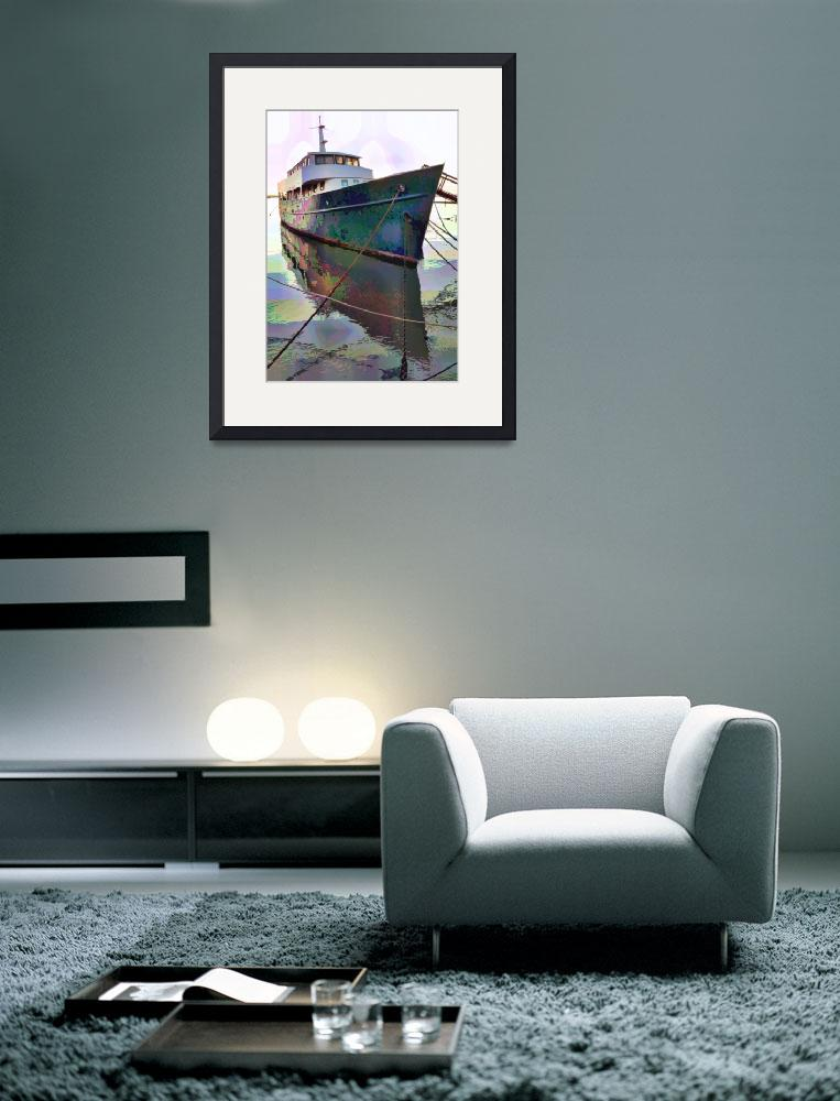 """""""Unknown boat&quot  (2012) by colinaiken"""