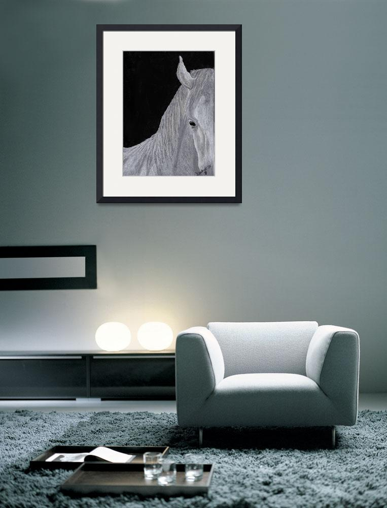 """""""White Horse""""  (2010) by primalaspects"""