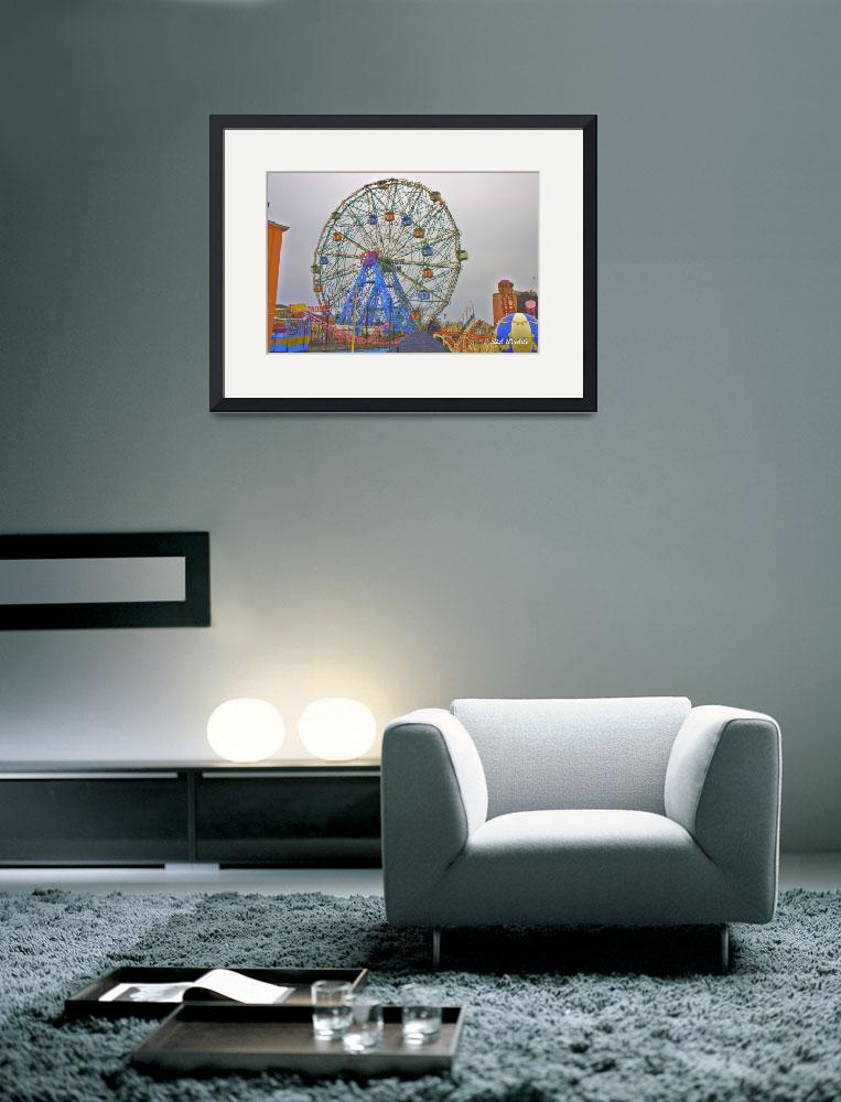 """""""The Wonder Wheel&quot  by RickWoehrle"""