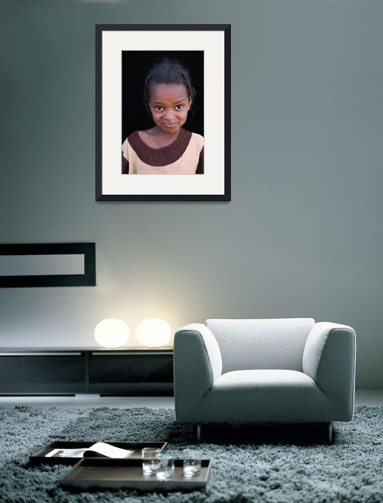 """""""Mauritanian Girl 3&quot  (2009) by AndreaMoorePhotography"""