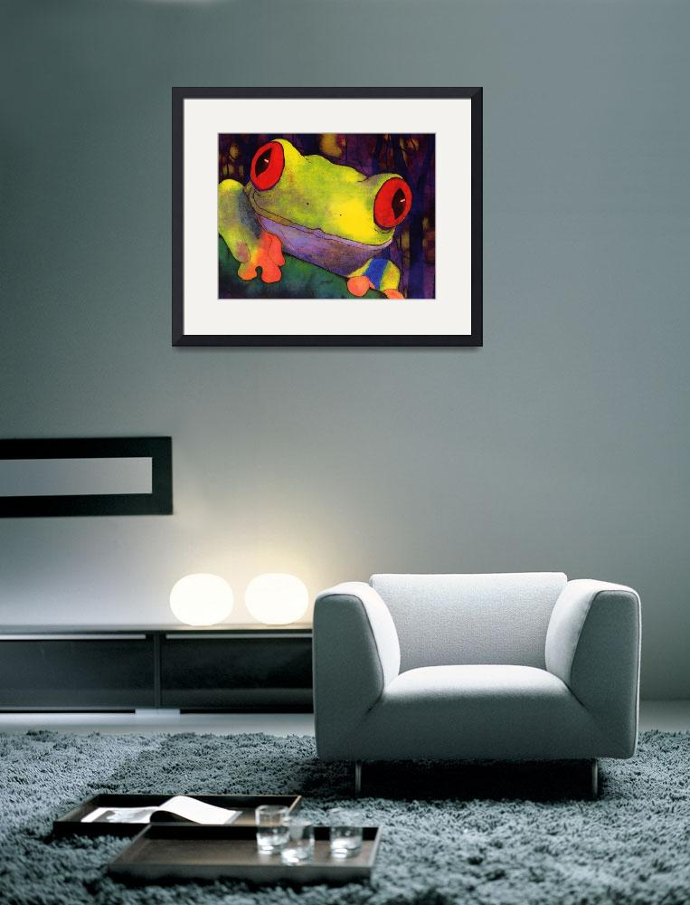 """Pura Vida Frog&quot  (2001) by wishbone"