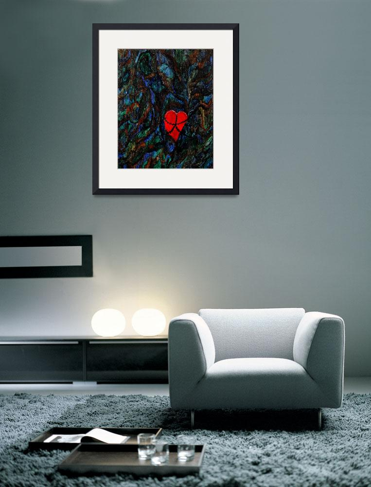 """""""Entangled Heart""""  (2005) by csmith"""
