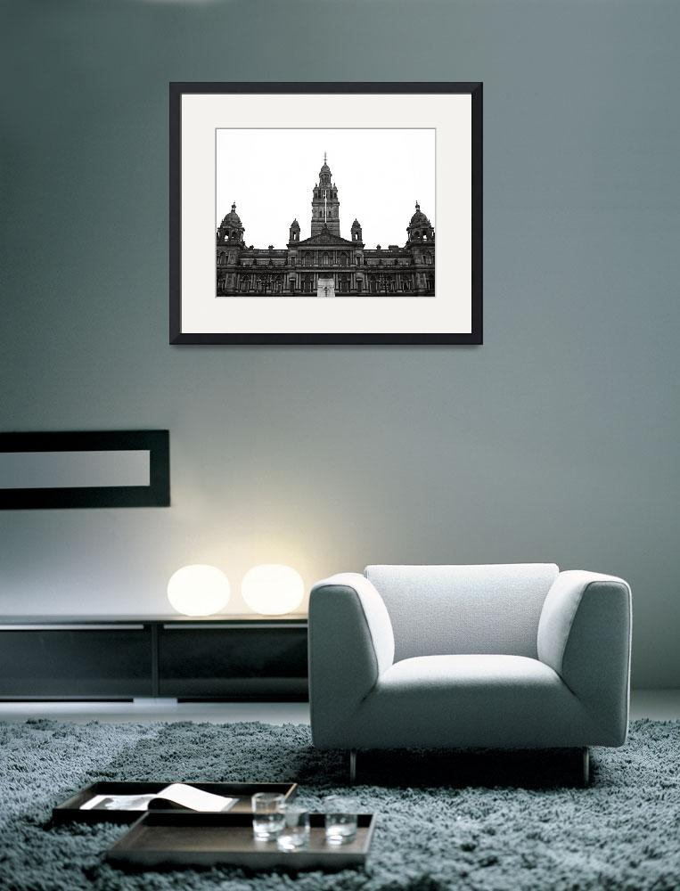 """Glasgow City Chambers&quot  (2010) by RossPhotoWorks"