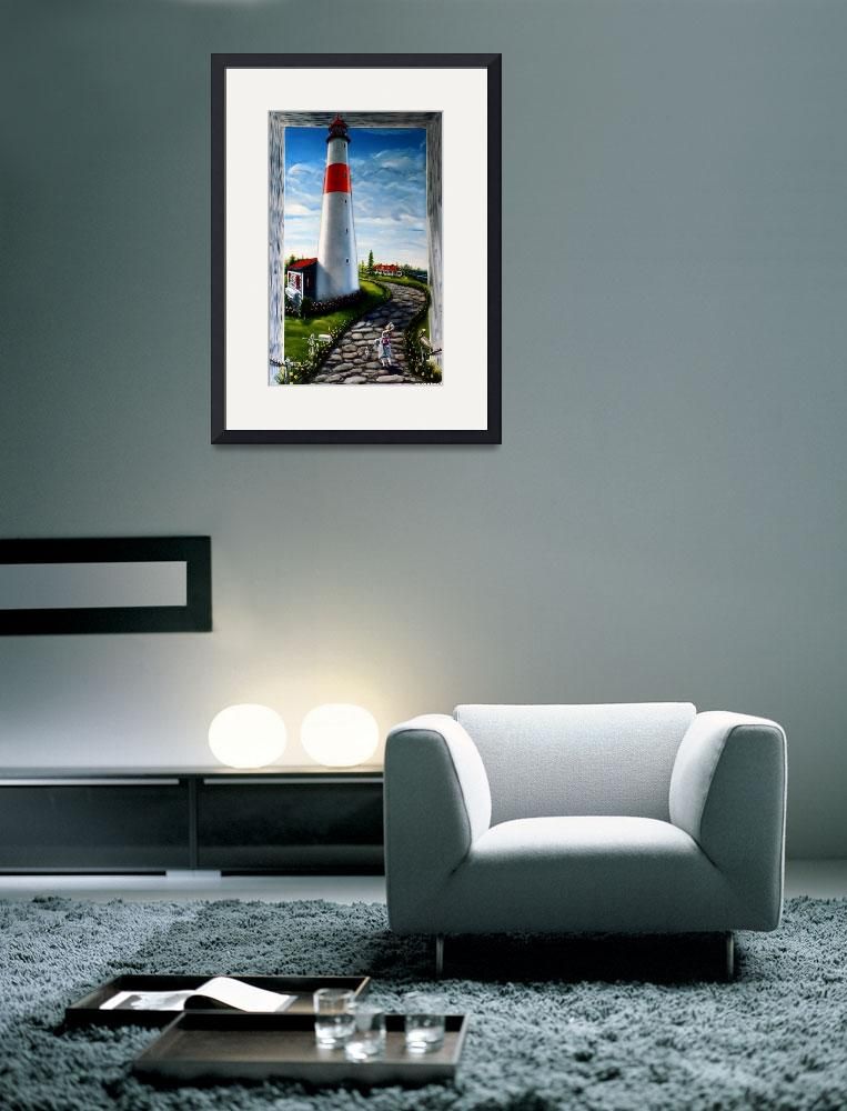 """""""Ogre and the lighthouse&quot  (2010) by JimmyNapier"""