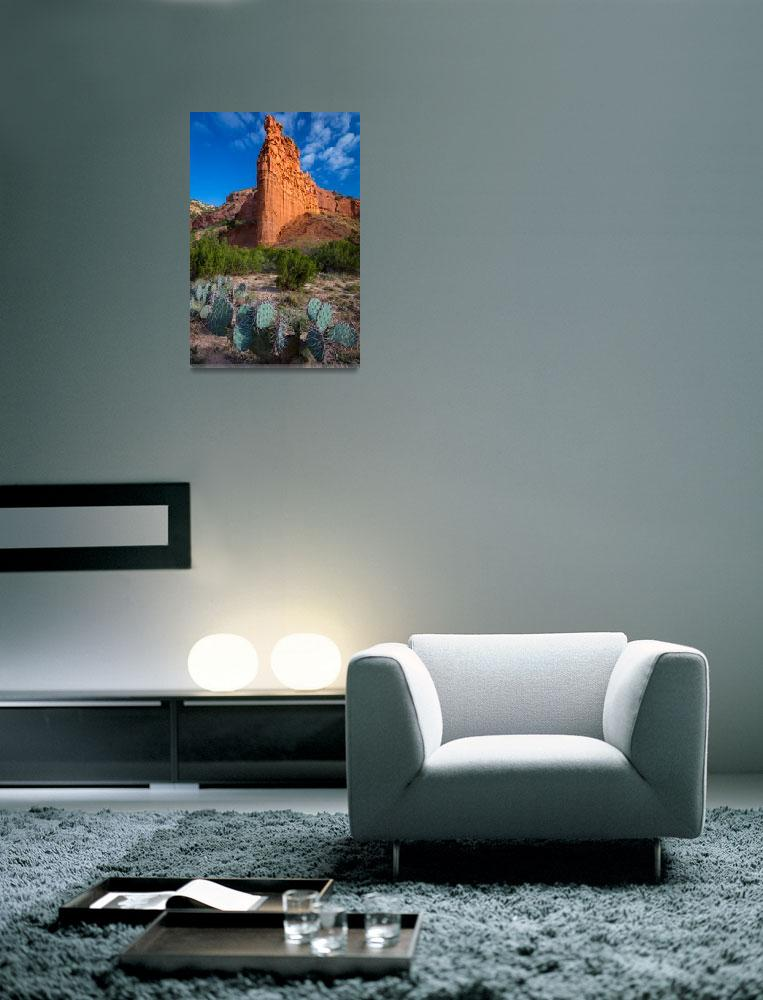 """""""Caprock Canyon Wall&quot  (2012) by Inge-Johnsson"""