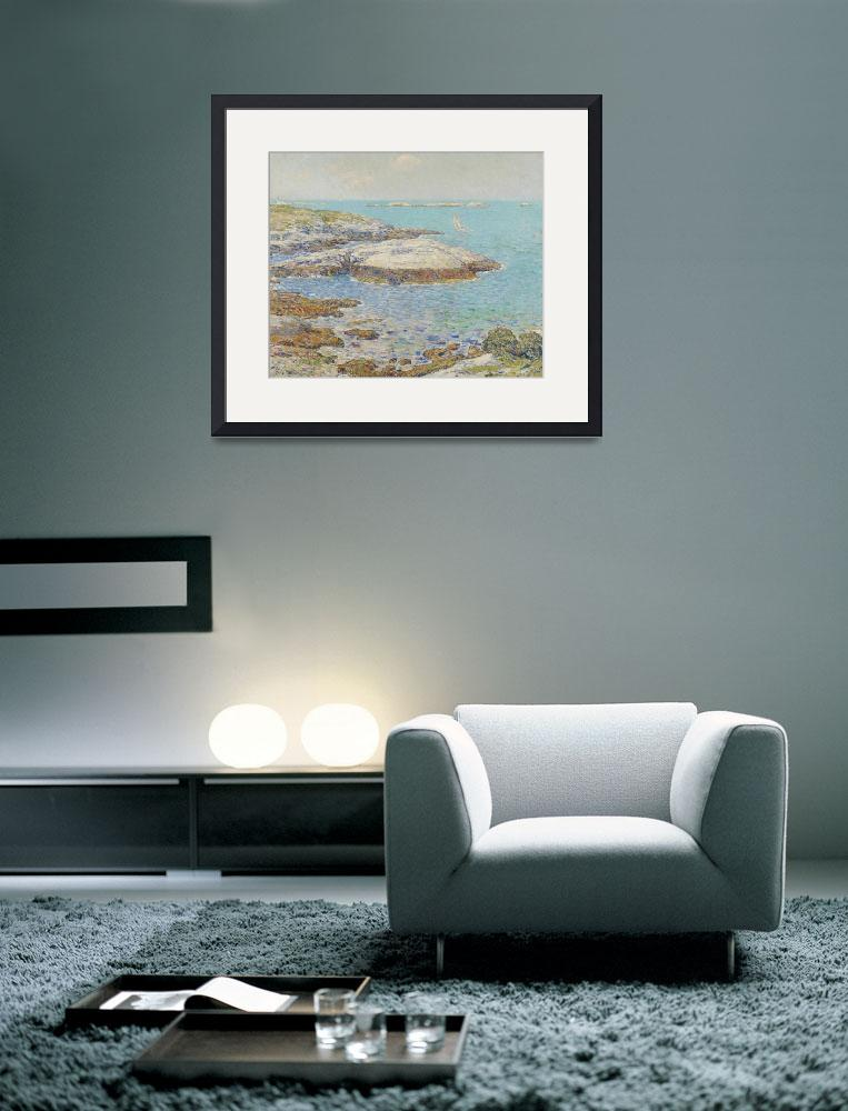 """""""Isles of Shoals, 1899 (oil on canvas)&quot  by fineartmasters"""