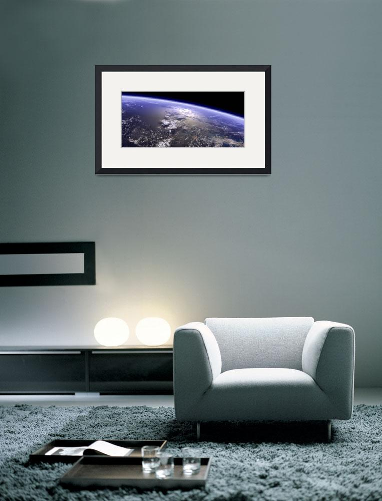 """""""Artists concept of a terrestrial planet&quot  by stocktrekimages"""