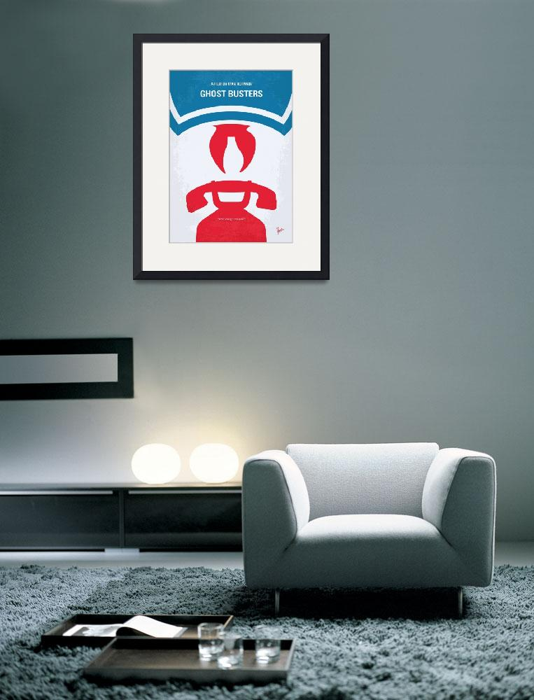 """""""No104 My Ghostbusters minimal movie poster""""  by Chungkong"""