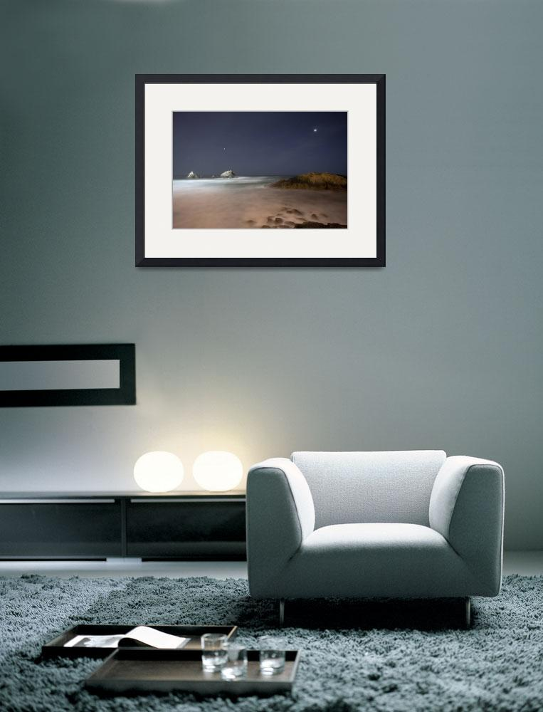 """""""rocks, surf, sky and stars&quot  by johncurley"""