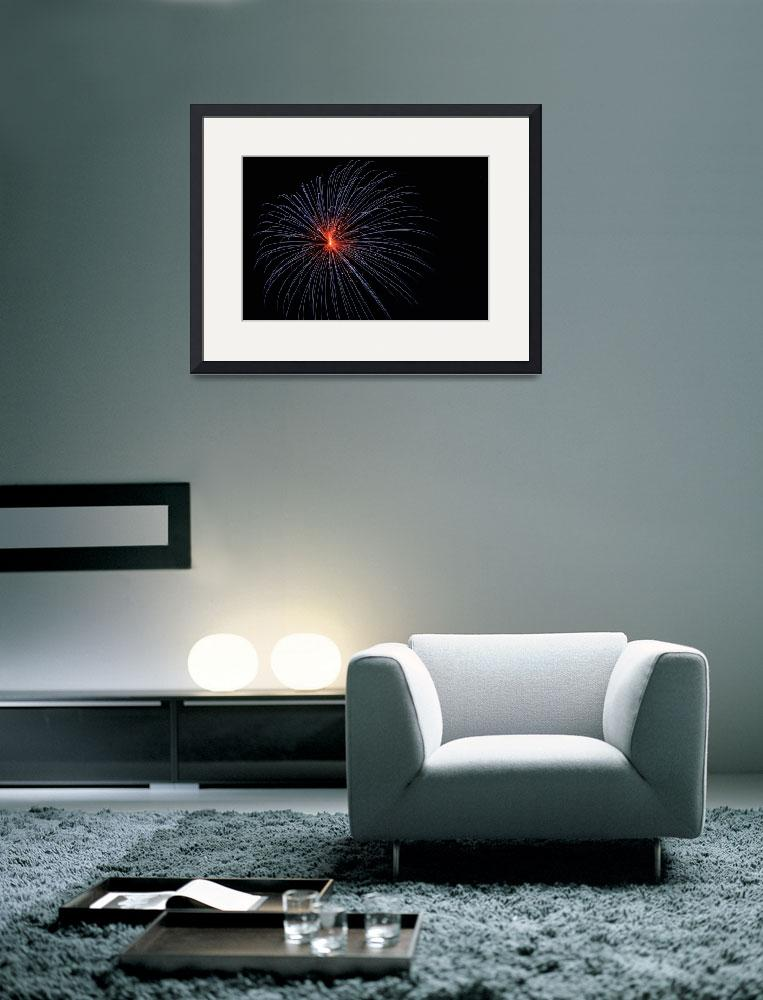 """""""Fireworks 1&quot  (2012) by kcarter"""