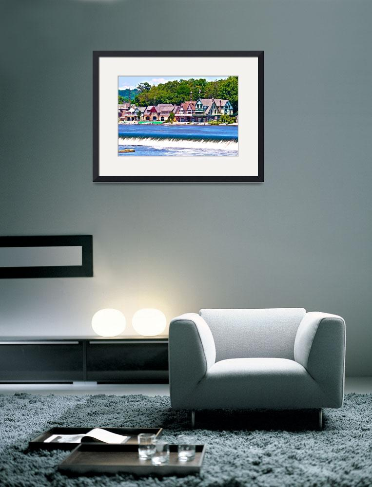 """""""Boathouse Row - HDR""""  (2009) by FordLou"""