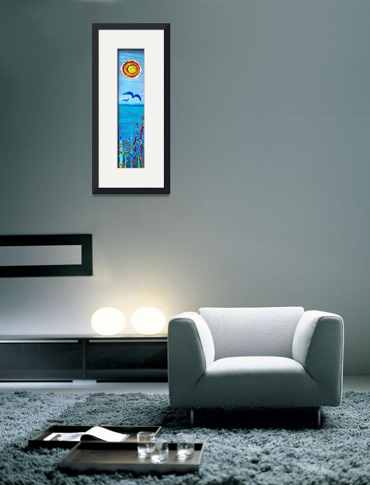 """""""Sun Over Sea&quot  (2009) by ArtistWithaDayJob"""