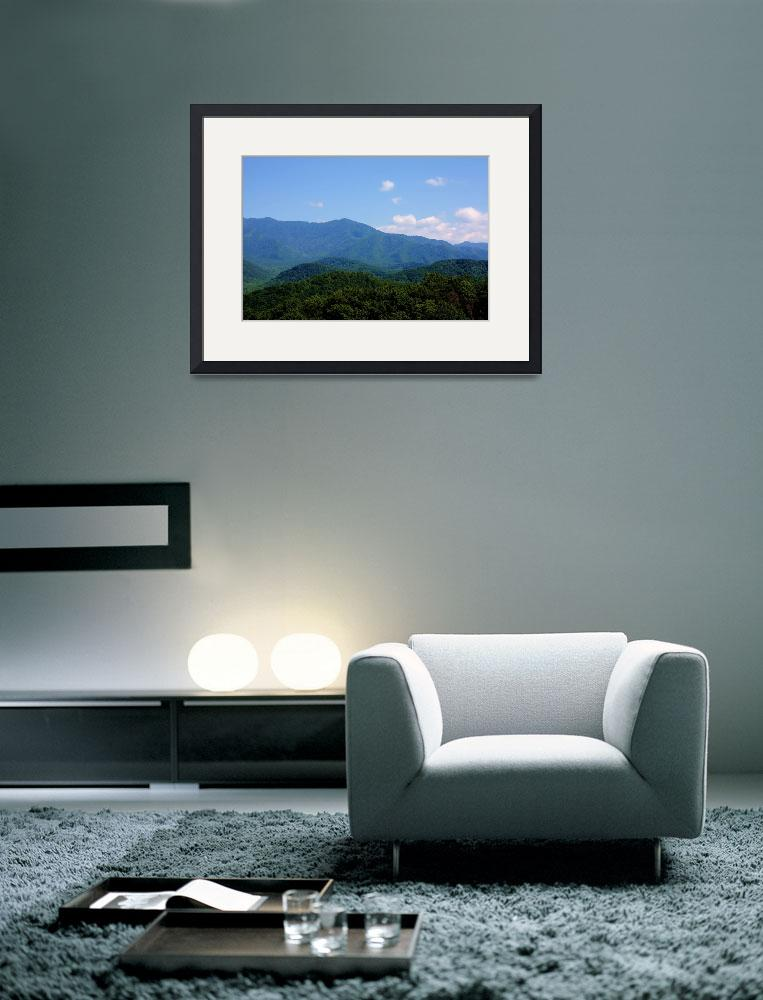 """""""Great Smokey Mountains&quot  (2009) by vwiwi"""