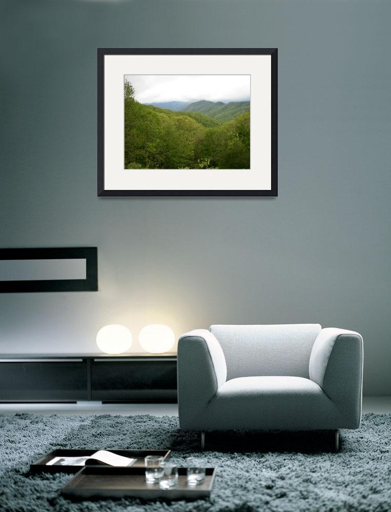 """Blue Ridge Mountains in Spring, NC&quot  by happysights"
