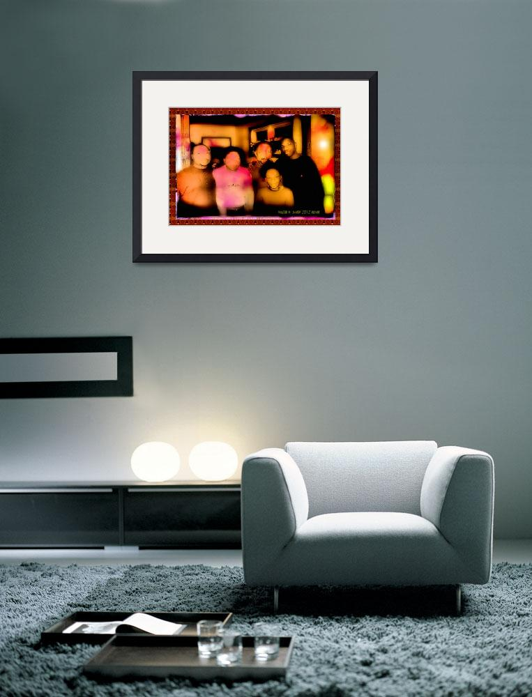 """""""Donald Miriam and Family&quot  (2012) by newdigitalscapes"""