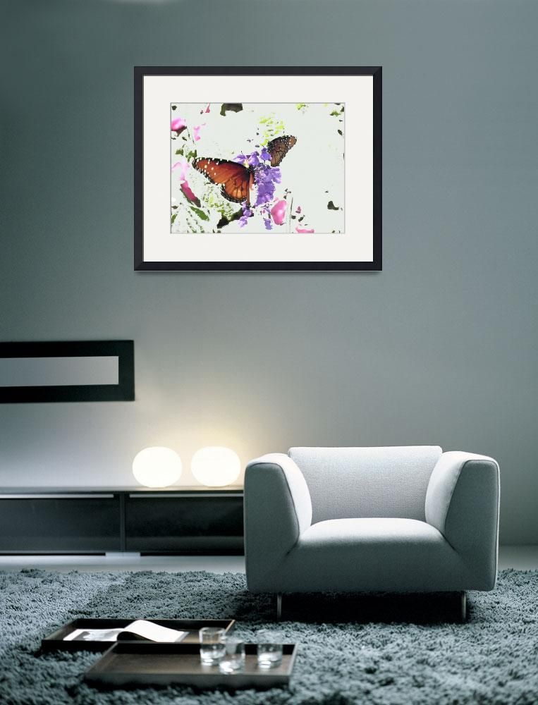 """""""Wings and Petals in Abstract""""  (2011) by marshacarson"""
