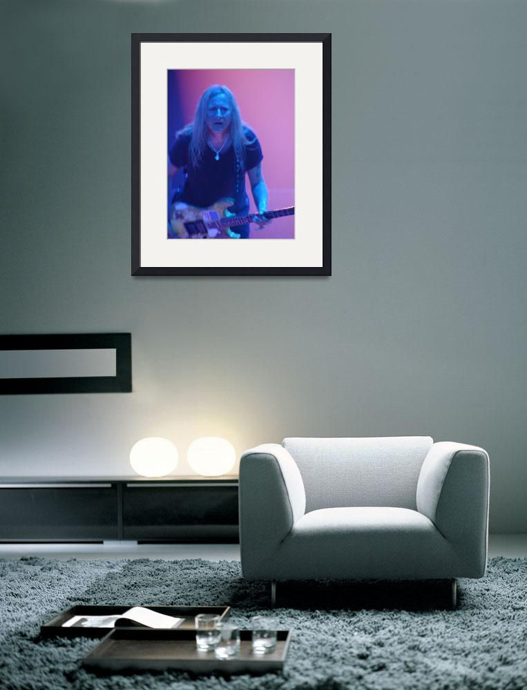 """Alice in Chains - Jerry Cantrell Pink & Blue 1""  (2010) by robvena"