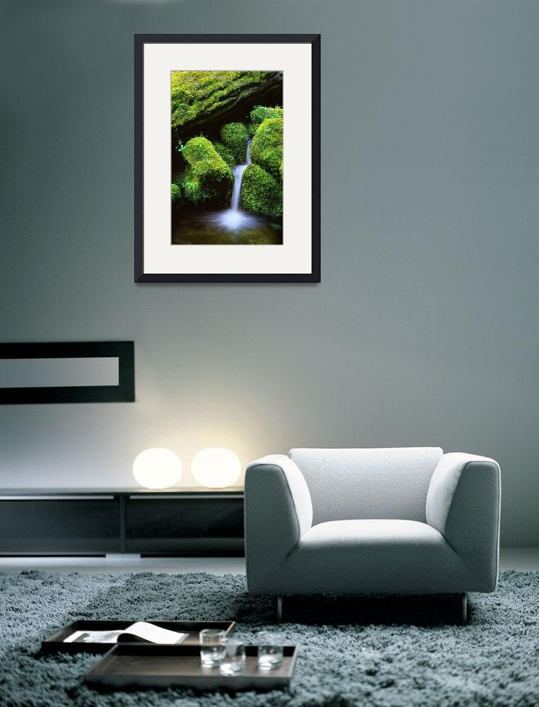 """""""Mossy Cascade&quot  (2002) by Inge-Johnsson"""