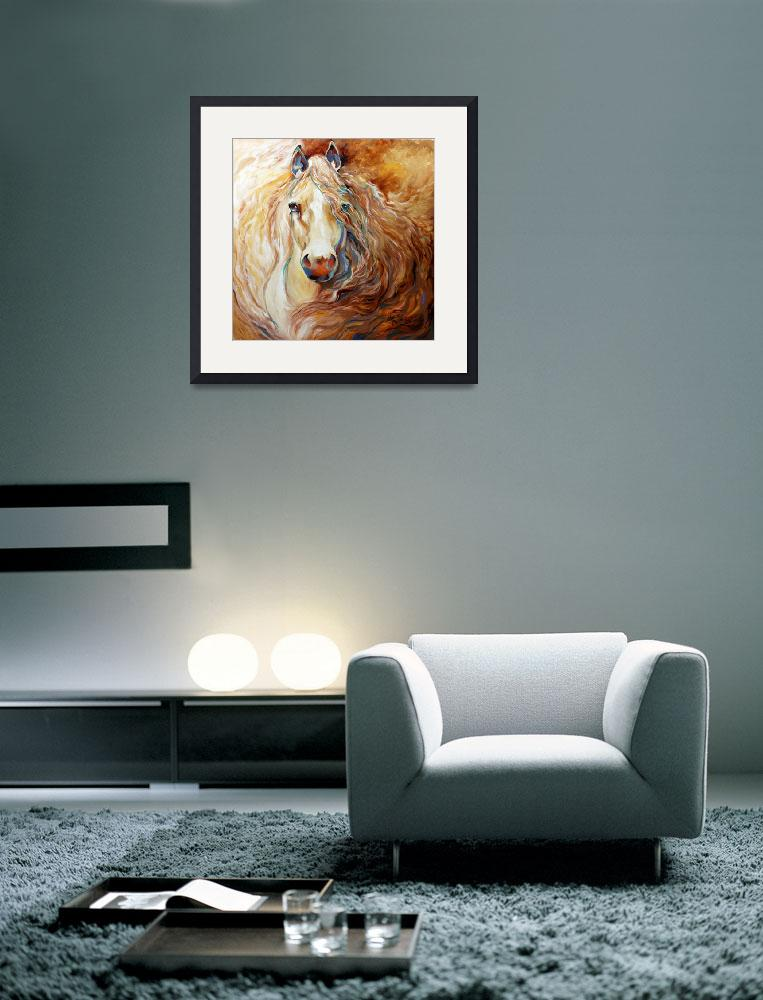 """""""Palomino Wind [SIGNED]&quot  (2013) by MBaldwinFineArt2006"""