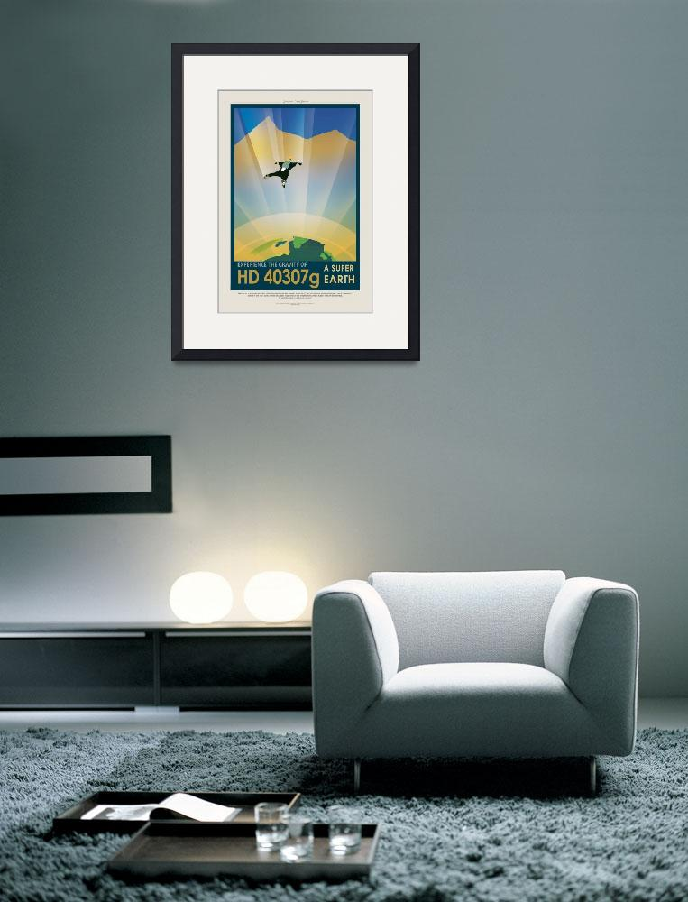 """""""Nasa Space Travel hd40307g""""  by FineArtClassics"""