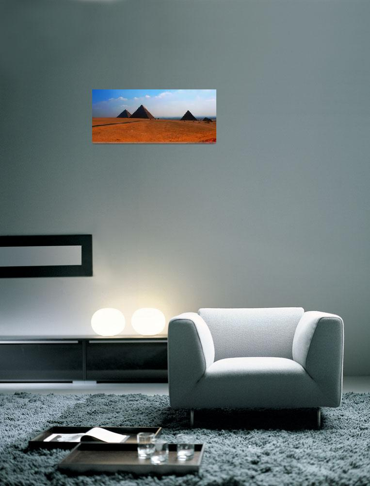 """""""Three Pyramids Of Giza""""  (2005) by TheArtist"""