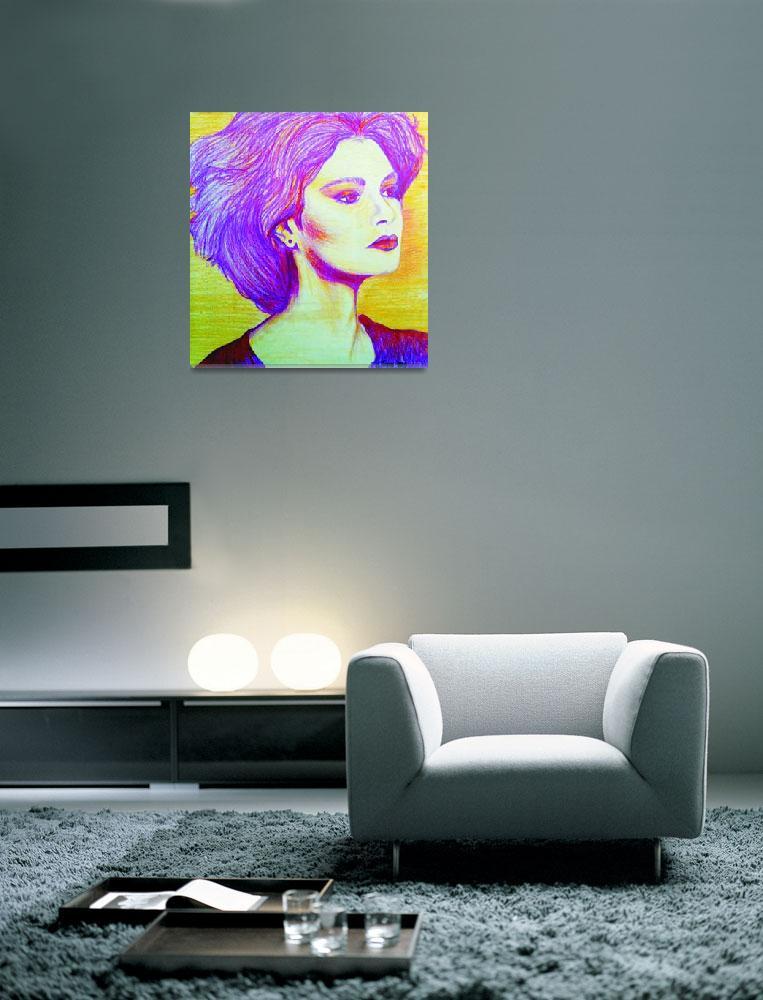 """""""Portrait of Lady""""  (1986) by SuSu"""