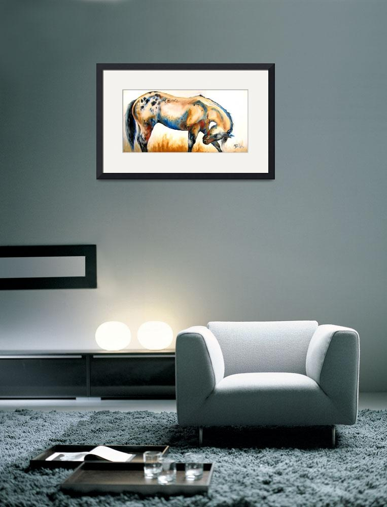 """APPALOOSA&quot  (2008) by MBaldwinFineArt2006"