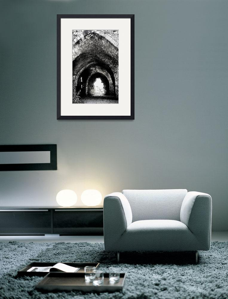 """""""Crusader Castle&quot  (1997) by rayjacque"""