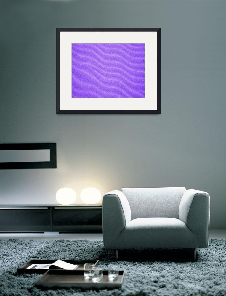 """Purple Sand""  (2010) by indiannes"