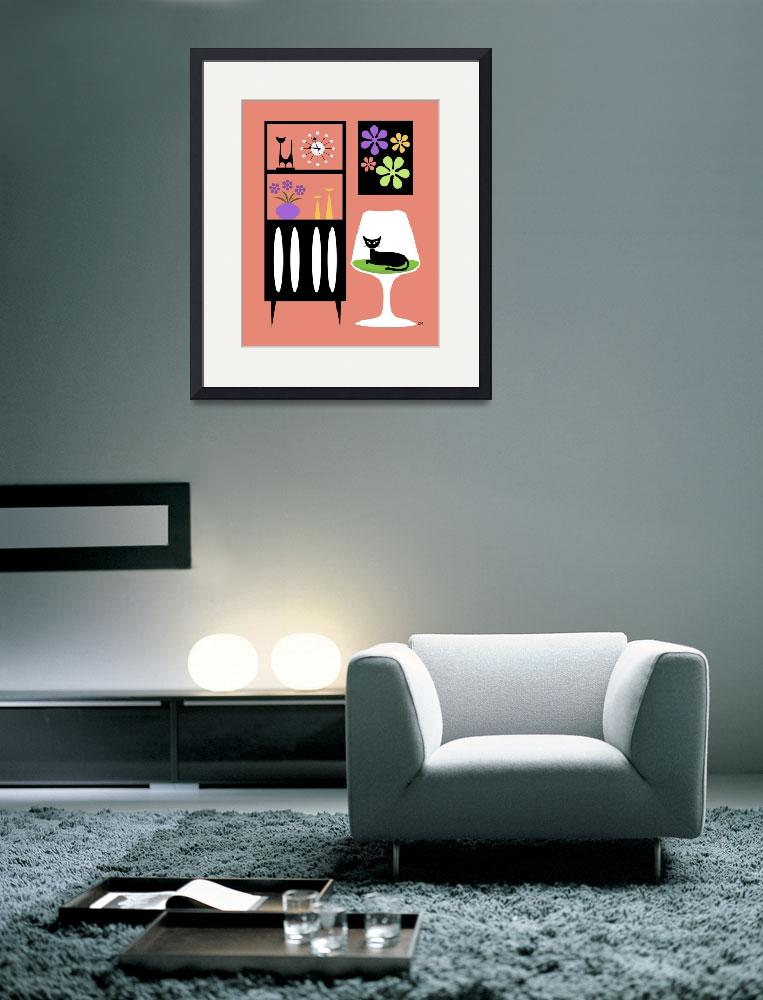 """""""Cat in Pink Room&quot  (2012) by DMibus"""