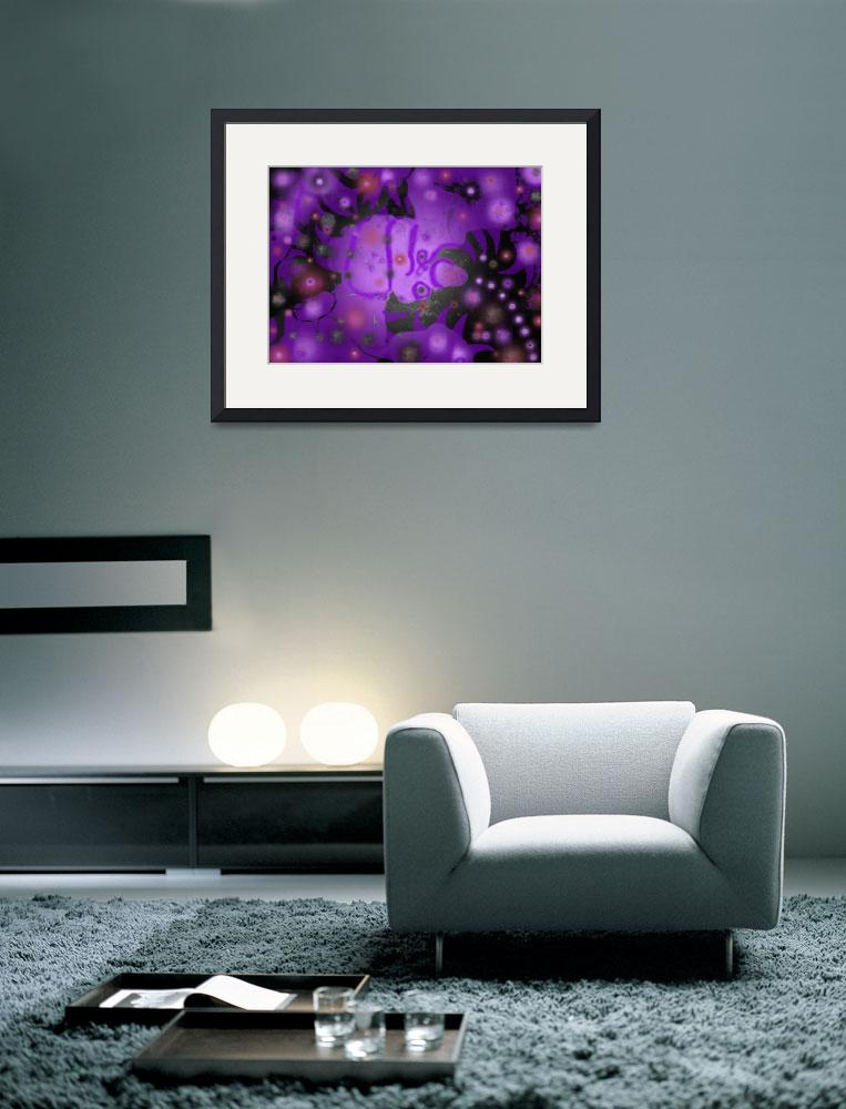 """""""Purple Ice""""  (2006) by Peter-A-Kopher"""