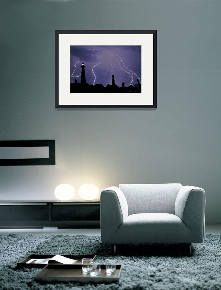 """lighting city&quot  by photo-design-online"