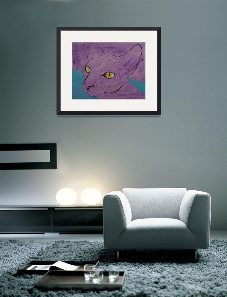 """""""Purple Sphynx&quot  by creese"""