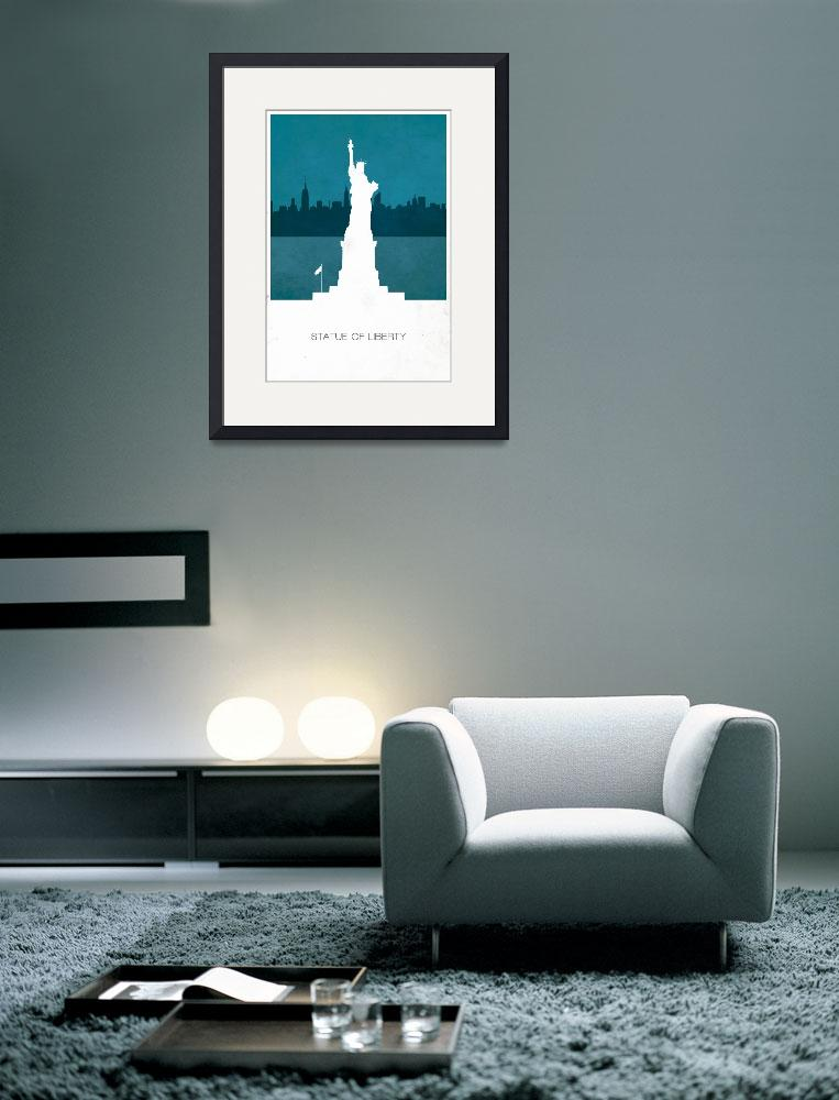"""""""Statue of Liberty&quot  (2012) by javinabar"""