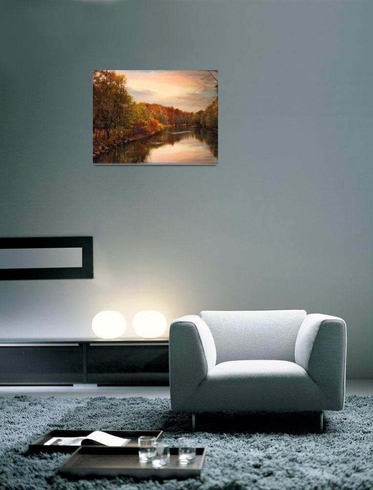 """""""Sunset Pond""""  (2012) by JessicaJenney"""