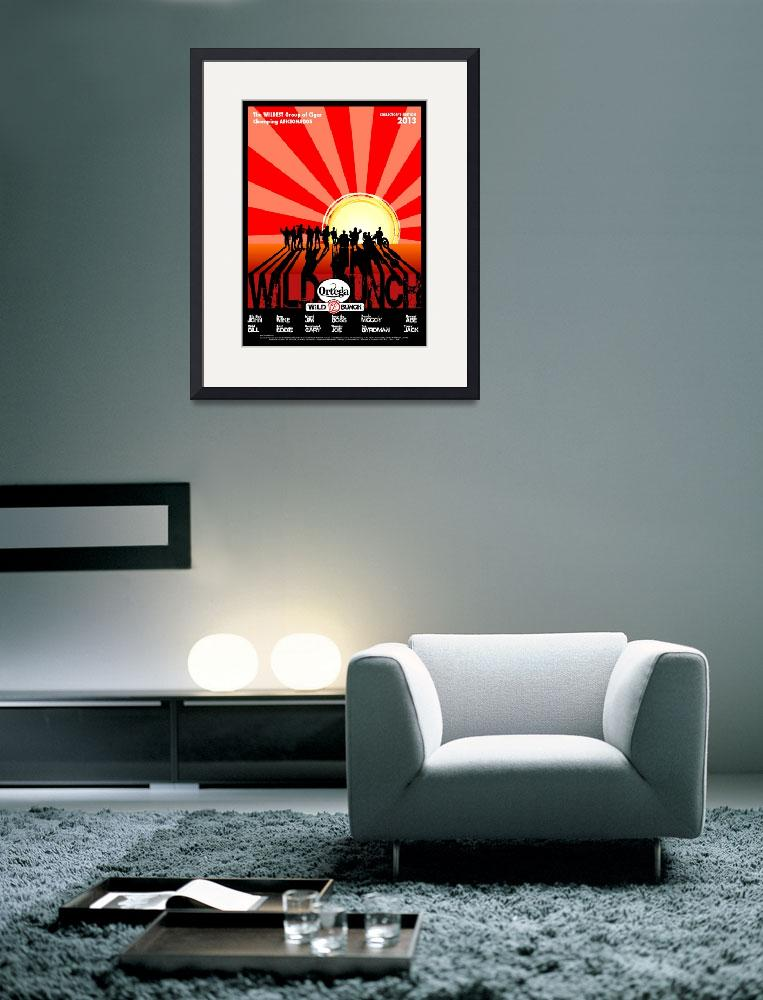 """""""Wild Bunch Poster - Black Border""""  (2013) by nealw6971"""