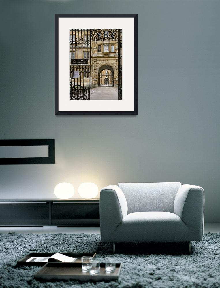 """""""Clare College&quot  by ssolis"""