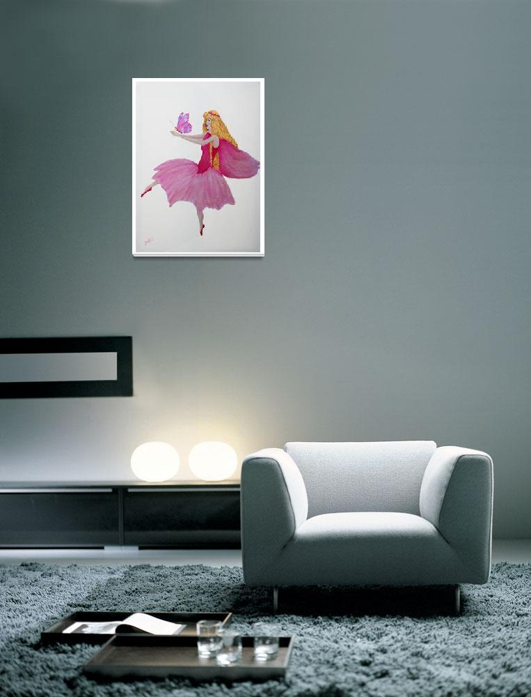 """""""Pink Fairy&quot  (2004) by barbee"""