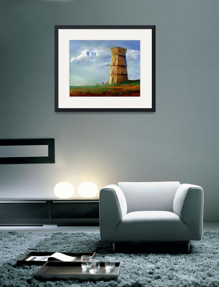"""""""Strong Tower""""  (2005) by Lenora"""